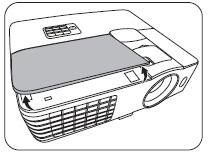 Замена лампы в проекторе BENQ W1070